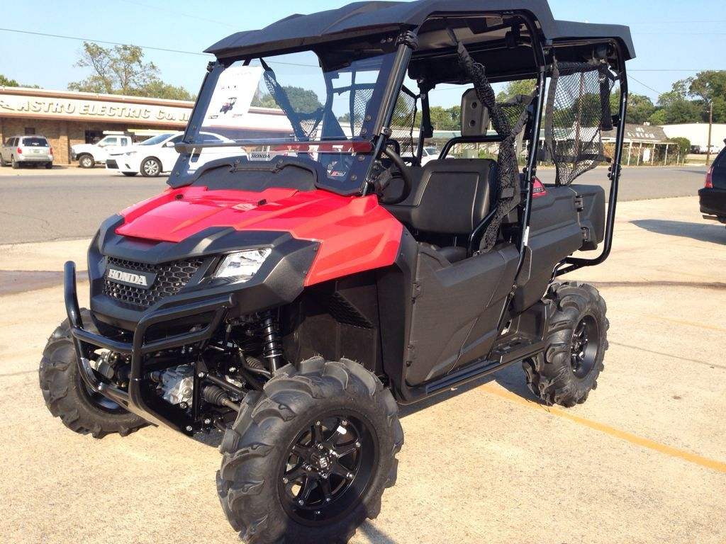Honda Pioneer 700 4 With Wheels Tires And Other Accessories Atv