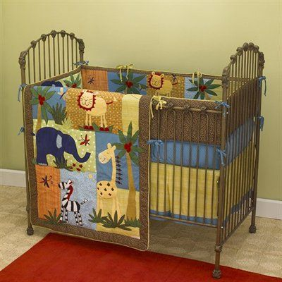 Zoo Animals Baby Nursery Decor Baby Bedding With Images Jungle Baby Room Baby Bedding Sets Baby Bed