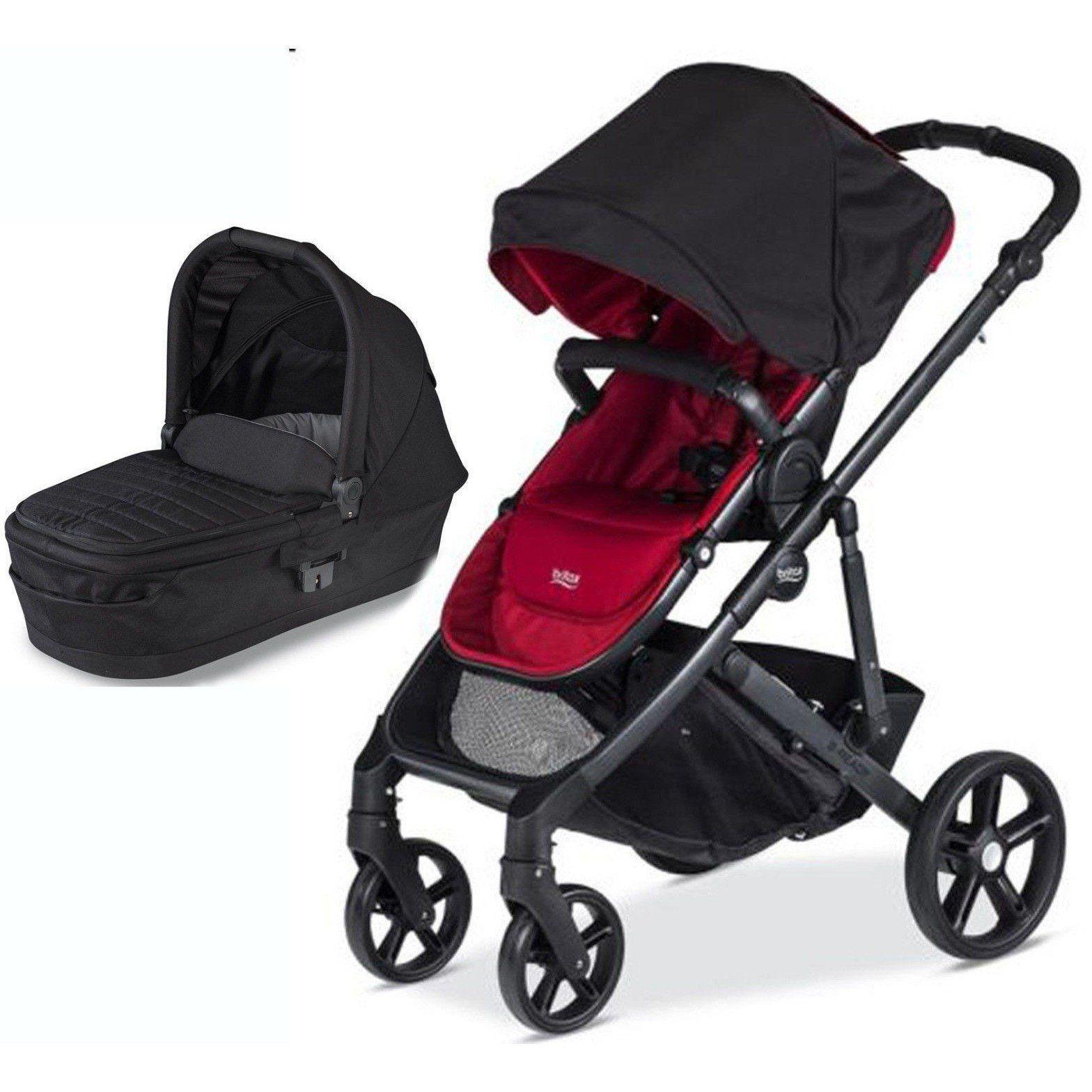Britax BReady Baby Stroller Poppy w Pram System