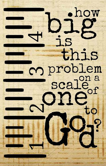 A Scale of One to God - free printable