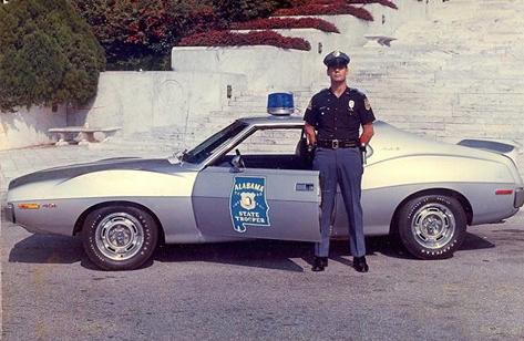 Alabama State Police 1971 AMC Javelin | Amc javelin, American motors, Amc