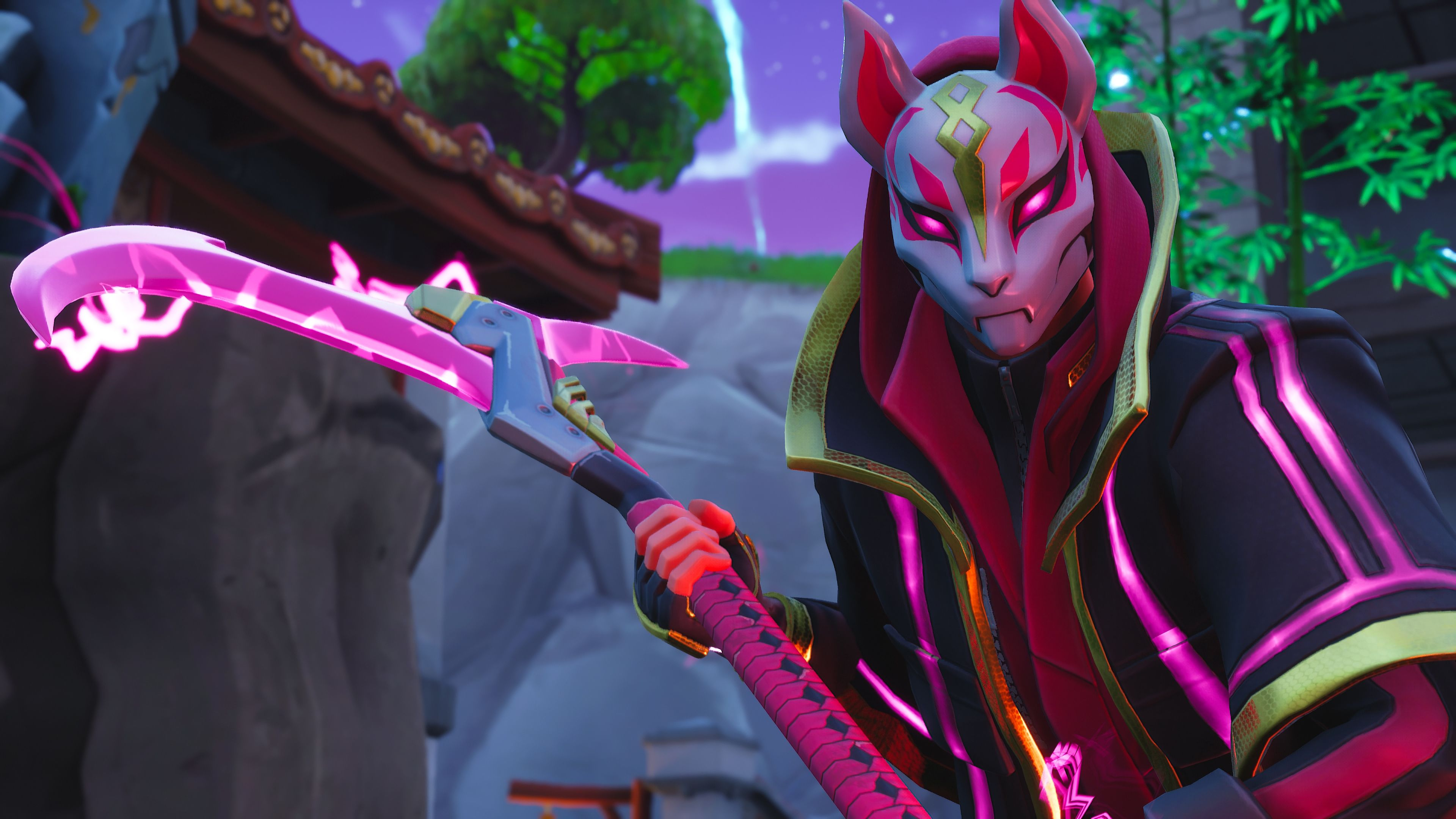 Drift Fortnite Battle Royale Video Game 3840x2160 Wallpaper