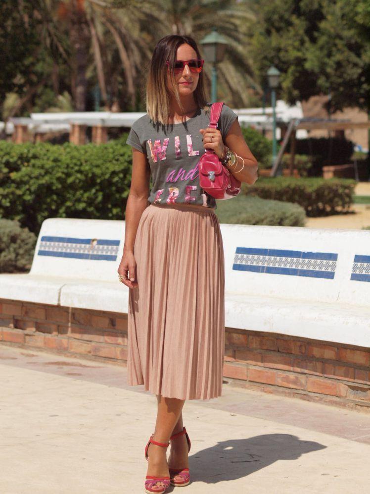 Pleated skirt!! | Faldas plisadas, Faldas y Ropa juvenil de moda