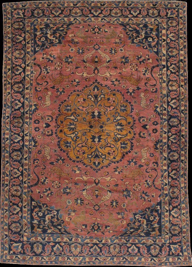 Persian Malayer Rug First Quarter 20th Century Antique Persian Rug Rugs On Carpet Rugs