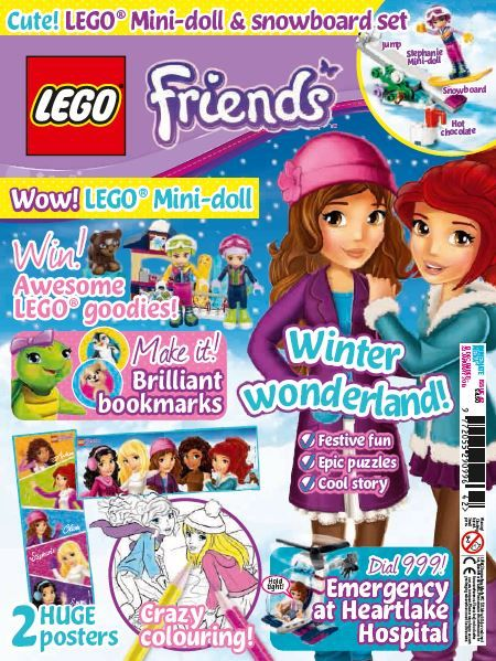 Lego Friends  Issue 42  Mags Direct Magazines
