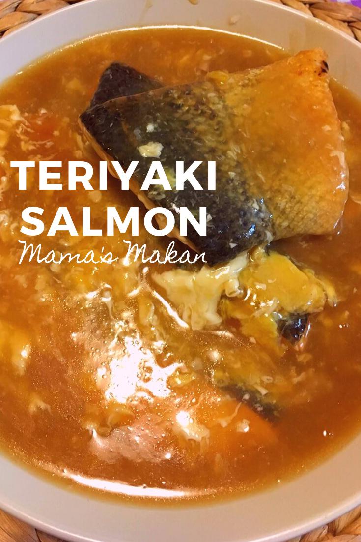 Teriyaki Salmon #teriyakisalmon Teriyaki Salmon – Mama's Makan #teriyakisalmon