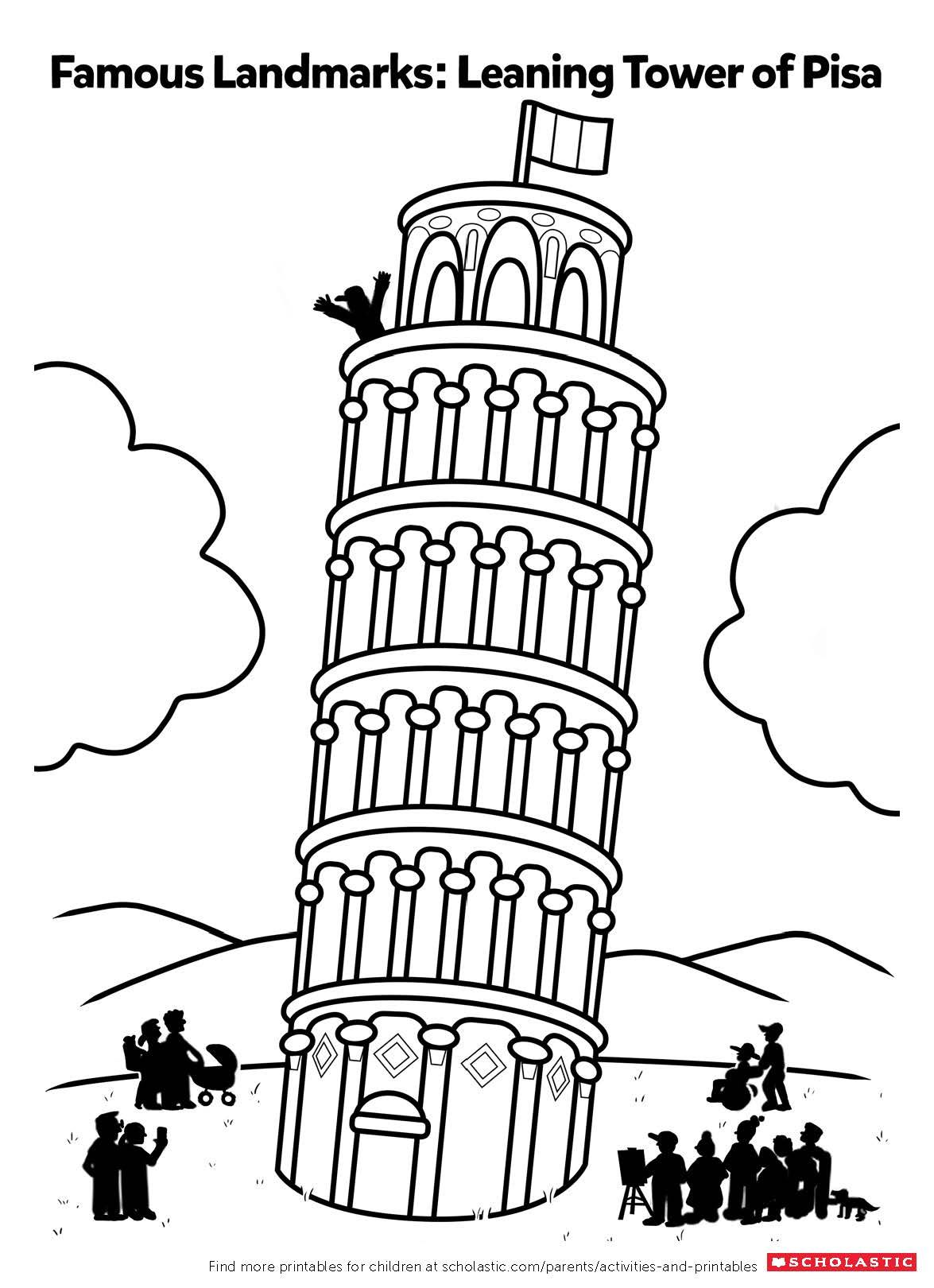 Color in the Leaning Tower of Pisa | Montessori: Geography ...