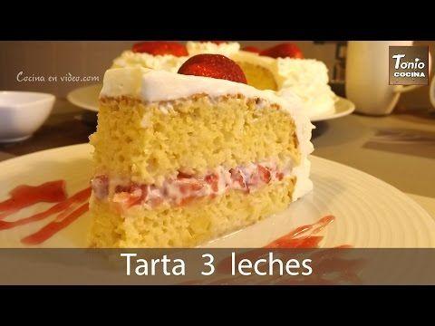 Receta Para Pastel Tres Leches Cómo Hacer Torta De Tres Leches Tonio Coc Pastel De Tres Leches Receta Receta De Pastel De Tres Leches Pastel De Tres Leches