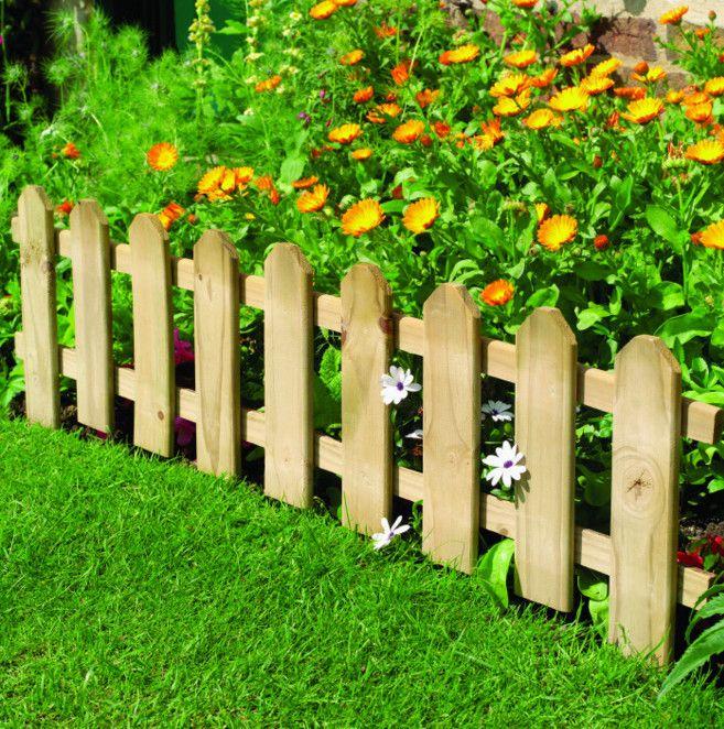 tall garden border fence - Best Garden Border Fence ... | Projects ...