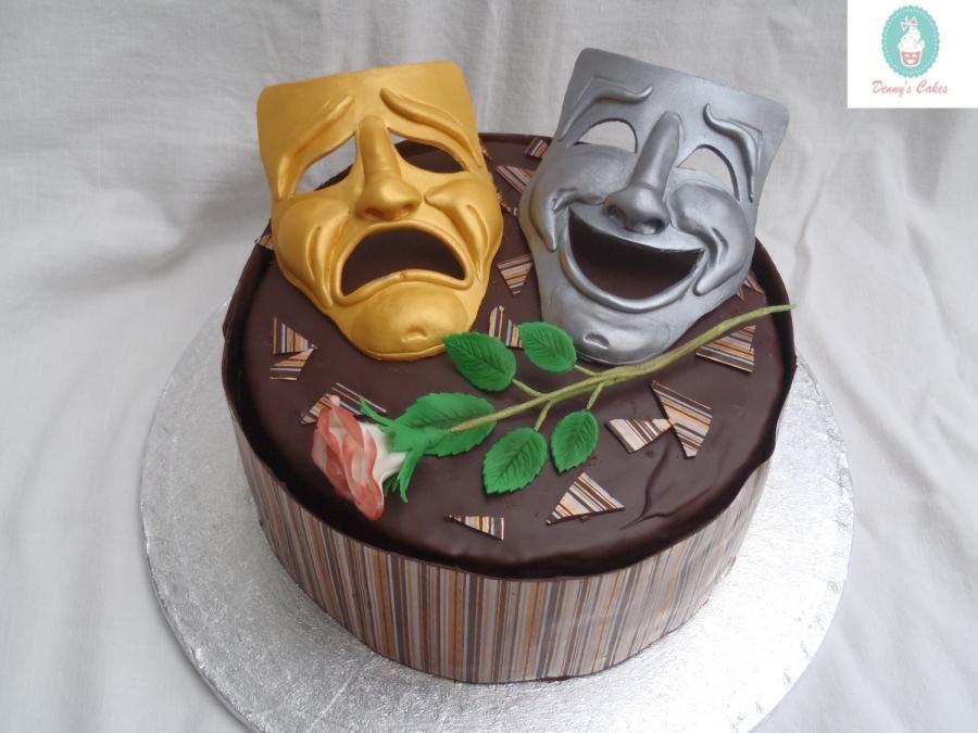 Chocolate theatre cake