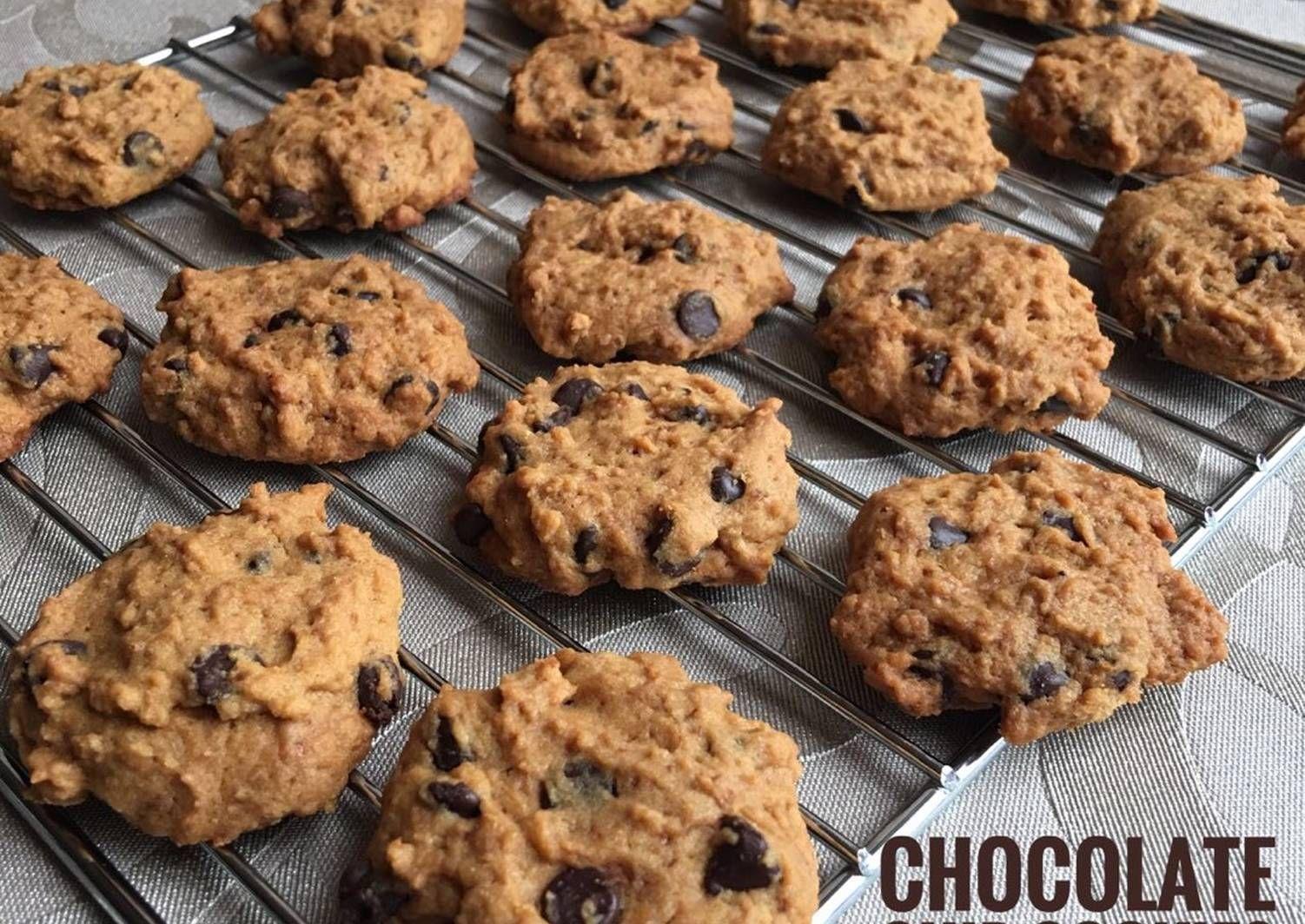 Resep Chocolate Chip Cookies Oleh Shirley Resep Resep Biskuit Kemasan Kue Kering Makanan