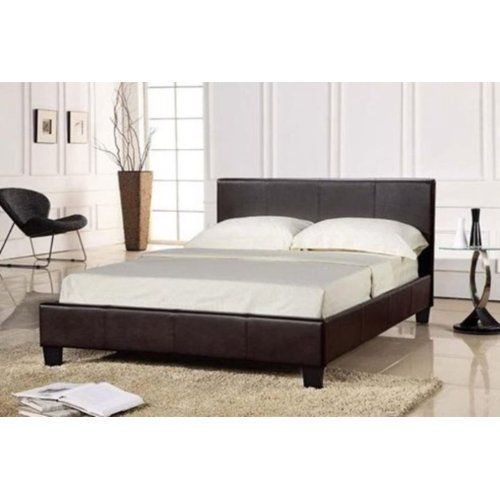 Mercury Row Baxley Upholstered Bed Frame Products In 2019 Leather Bed Frame Leather Bed Mattress Sets
