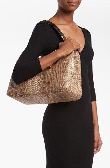 6e42b42b654 Michael Kors 'Skorpios' Python Print Shoulder Bag | Nordstrom | Baby ...