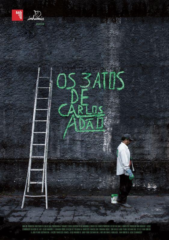 Poster do filme Os 3 atos de Carlos Adão