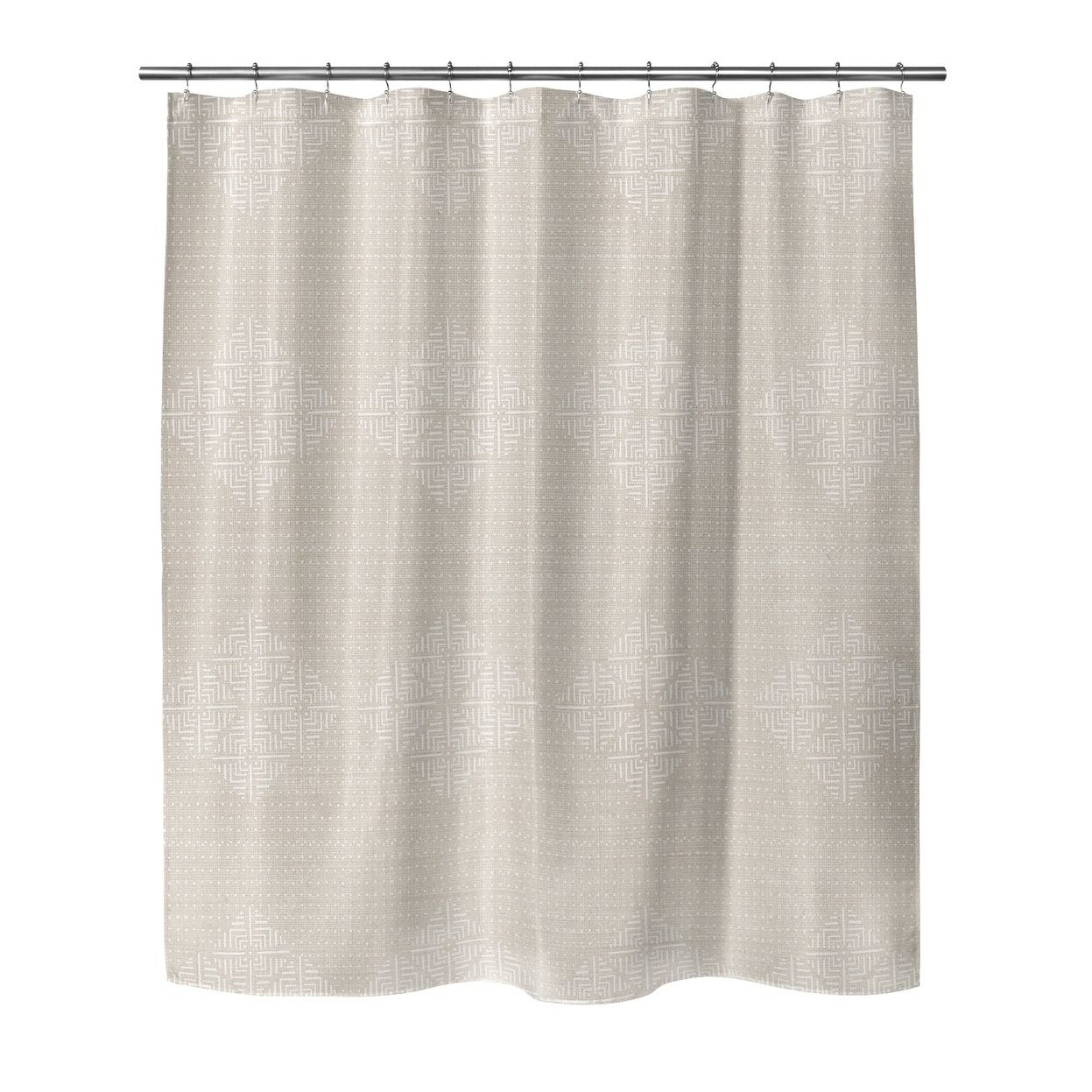 Kavka Designs Blane Cream Shower CurtainsOutlet Store