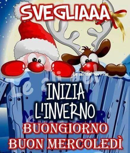 Buongiorno Buon Inverno Buongiorno Auguri Natale E Immagini