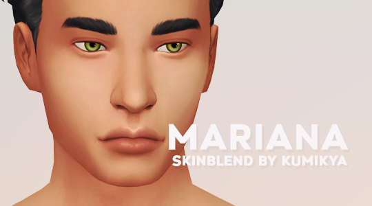 Mariana Skinblend Hi Guys I M Excited To Share With You My Second Skinblend Like My First This Is A Default Skin For A The Sims 4 Skin Sims 4 Cc Skin