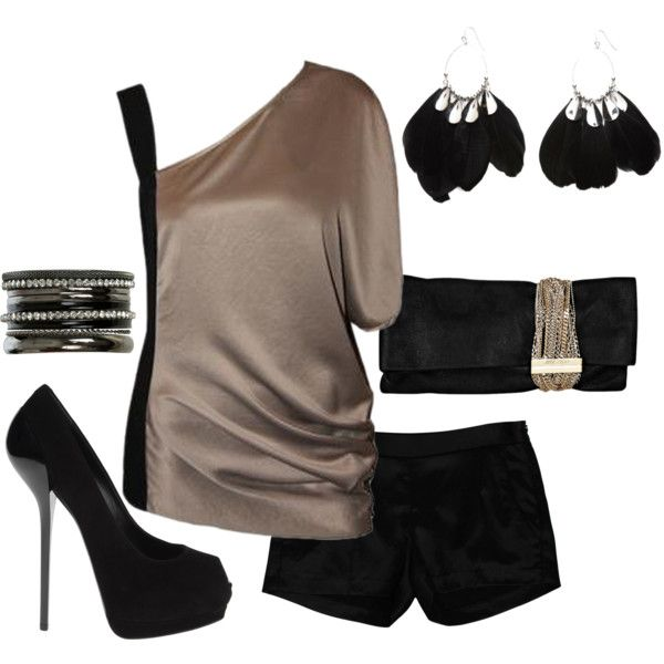 """""""Night On The Town"""" by sannroberts on Polyvore"""
