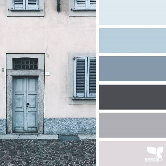 today's inspiration image for { a door hues } is by @closetteblog ... thank you, Federica, for another incredible #SeedsColor image share!