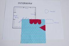 Photo of Näh Dir Dein Osterhuhn mit dieser Anleitung DIY und dem kostenlosen Schnittmust…