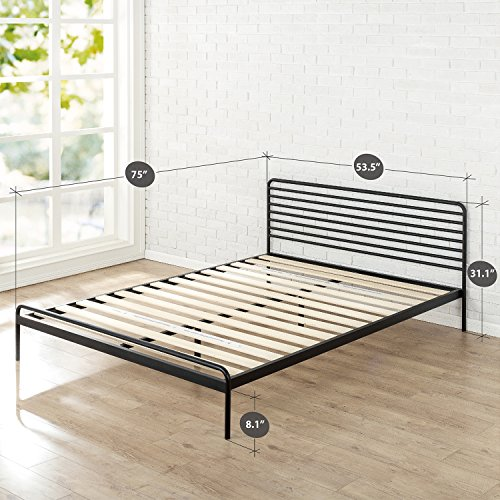 Zinus Tom Metal Platform Bed Frame Mattress Foundation No Box