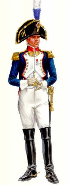 Colonnello della fanteria di linea francese