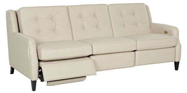Saville Mid Century Modern Power Wall Hugger Reclining Sofa