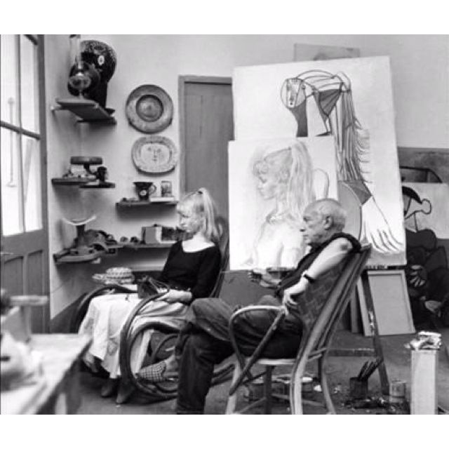 Picasso and muse Sylvette David