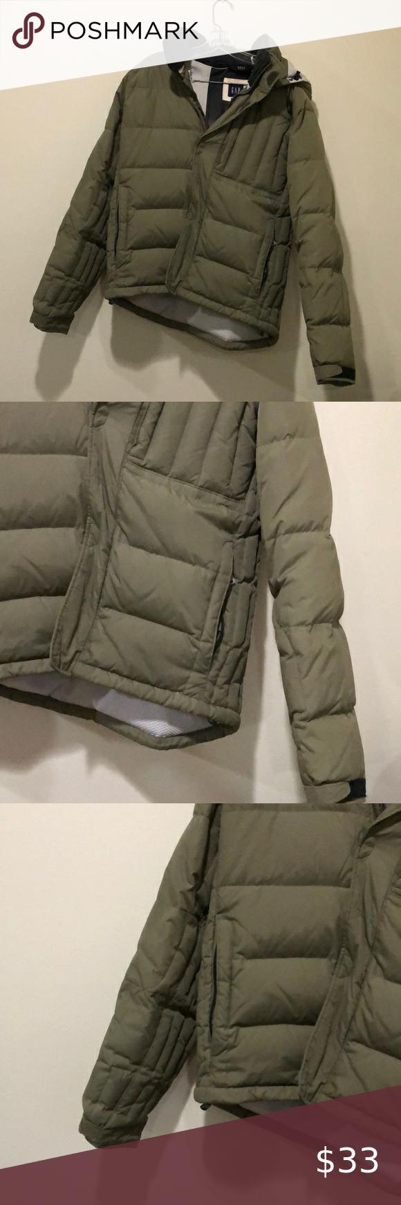 Gap Mens Winter Puffer Jacket Olive Green Winter Puffer Jackets Puffer Jackets Green Puffer Jacket [ 1740 x 580 Pixel ]
