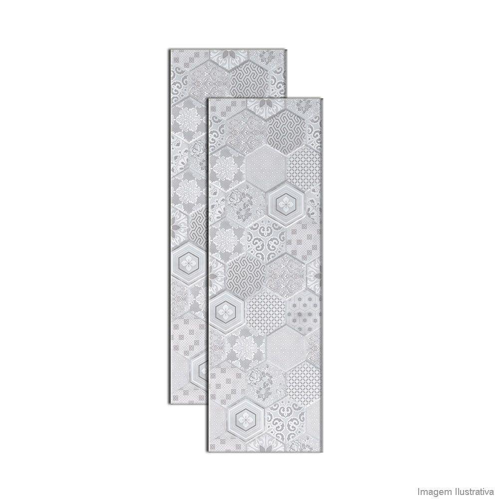 Faixa Inserto Kori Cement Patch 30x90,2cm - INCEPA Telha Norte