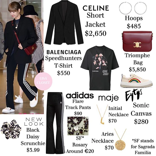 Lisa S Airport Fashion Is The Most Expensive In Blackpink Kbizoom Fashion Kpop Fashion Outfits Expensive Fashion