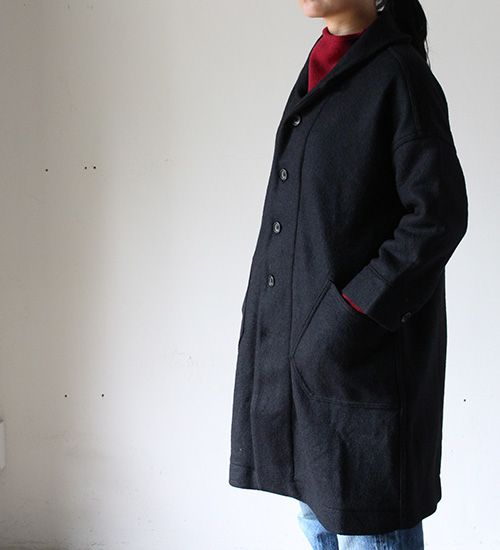 KNIT MELTON SAILOR COAT | BLOG|OMNIGOD