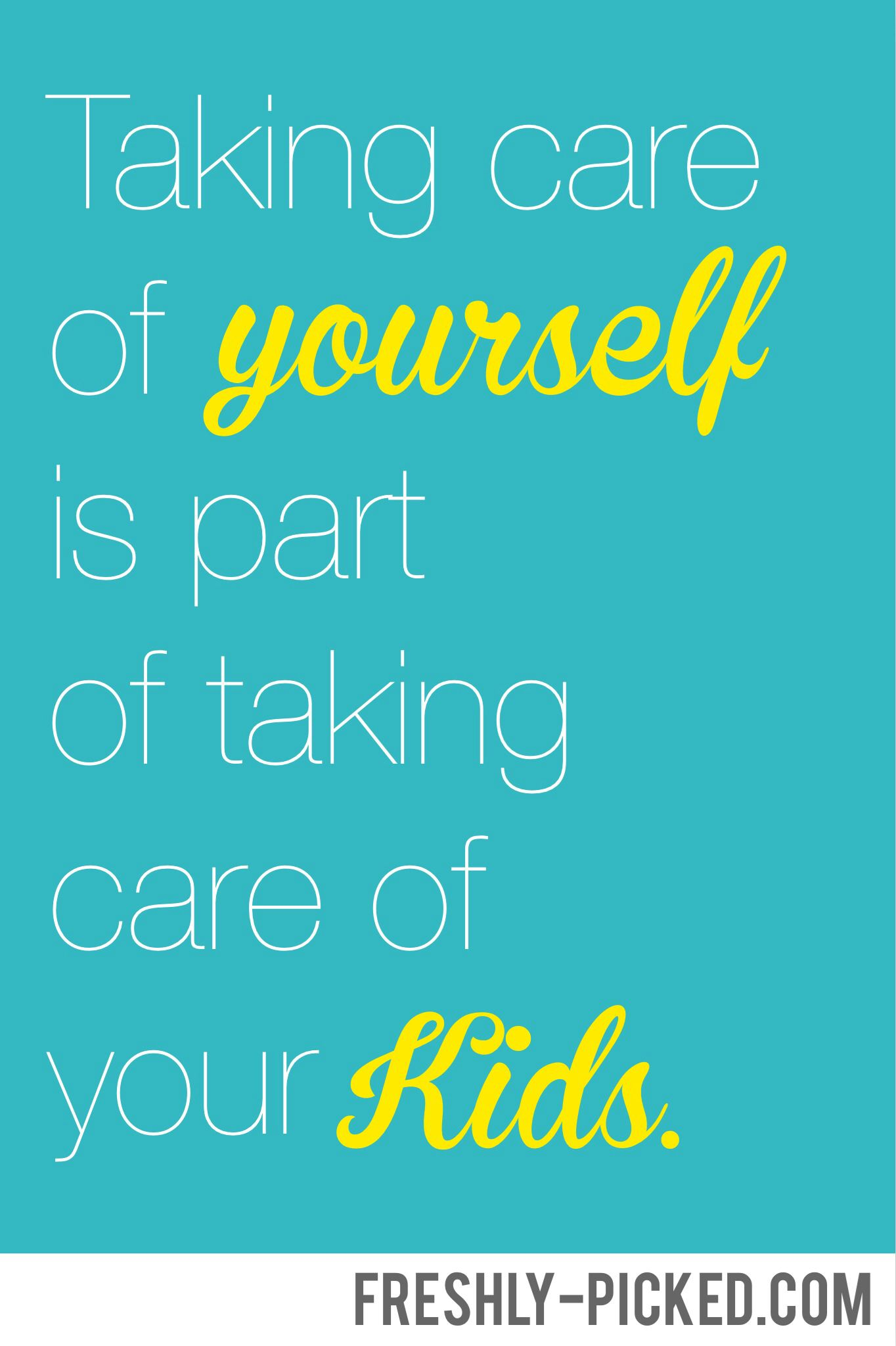 Be Sure To Take Care Of Yourself Too Oxygenmask Motherhood