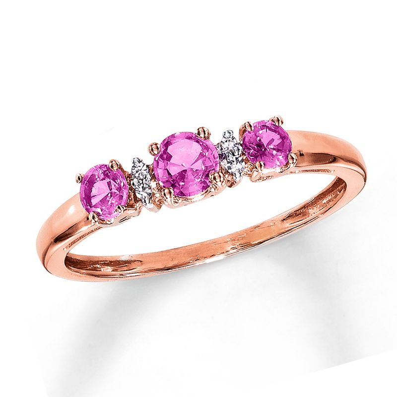 Wedding Fashion Rings: New Style Three Sapphire Wedding Ring With ...