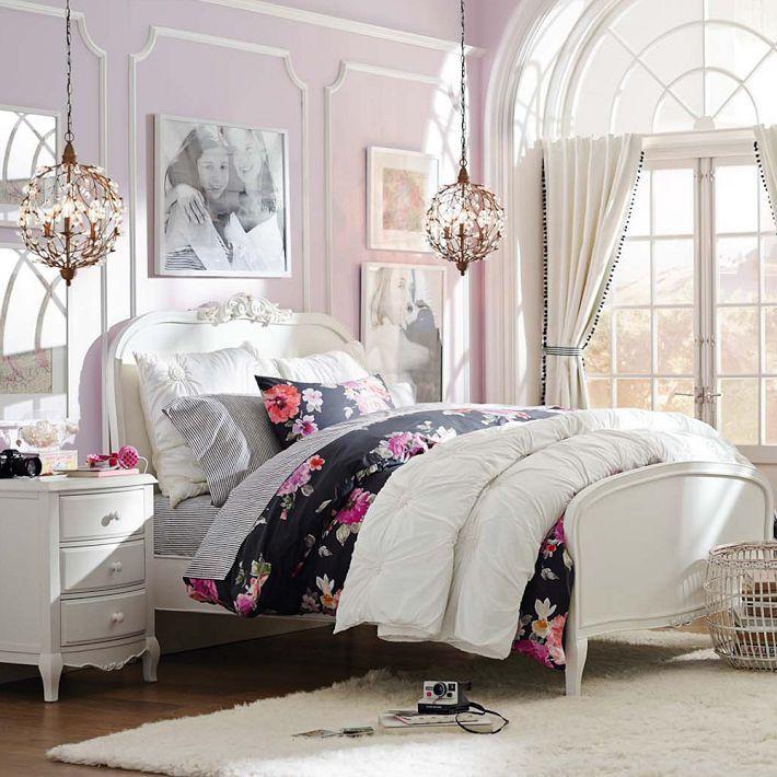 Vintage Bloom Duvet Cover Sham Girls Bedroom Furniture