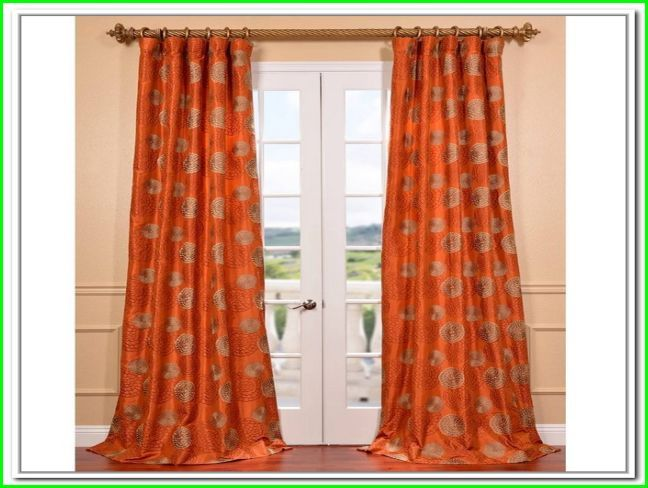 burnt orange curtains and drapes stuff. Black Bedroom Furniture Sets. Home Design Ideas