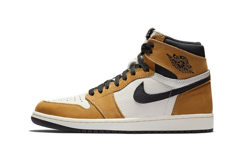 7f81f5cb Air Jordan 1 Retro High OG Rookie Of The Year Now at StockX basketball  peanut butter brown stats sports sneaker
