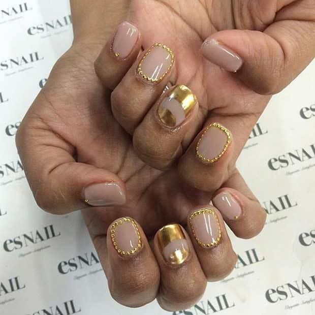 60 Trendy Gel Polish Nails Art - Long Nails | Acrylic nail salon ...