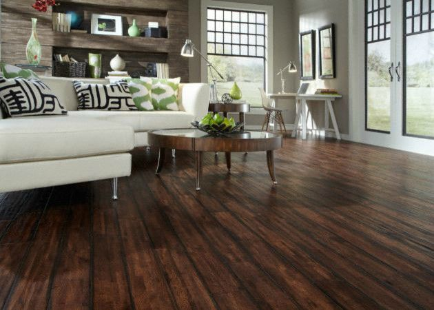 Find this Pin and more on Handscraped Hardwood Flooring. - Hand #scraped #hardwood Floors Have Ridges And A Bumpier Texture