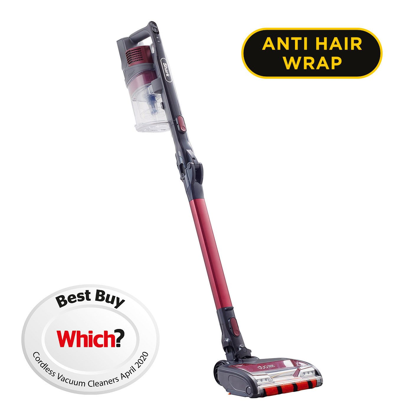 Shark Anti Hair Wrap Cordless Stick Vacuum Cleaner with