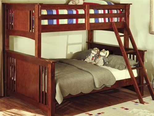 Levi Twin Over Full Bunk Bed Bunk Bed Designs Bunk Beds Wood