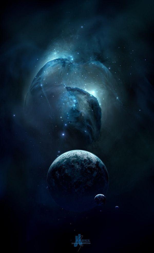 Breathtaking Space Art by Josef Barton  Cuded
