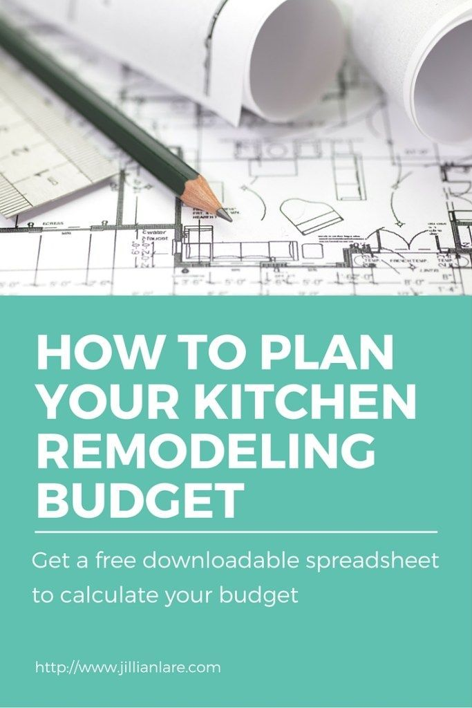 My tips for planning your kitchen remodeling budget, plus you can
