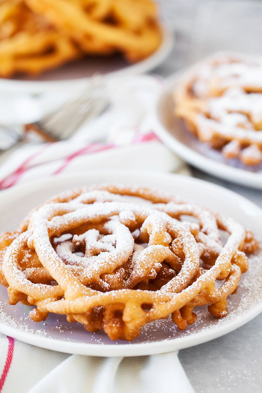 This simple and delicious funnel cake recipe tastes just like the famous county fairs!