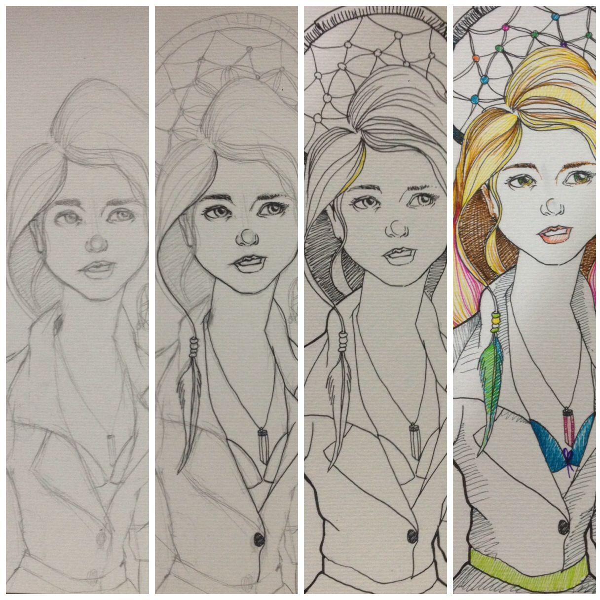 #Dreamcatcher For Elise, Comic, illustration