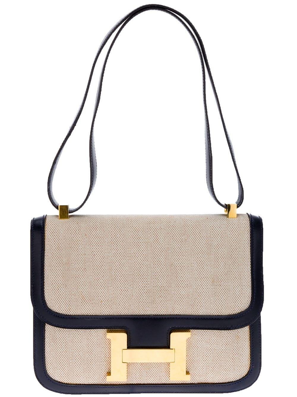 677ce2a71261 Hermès Vintage  Constance  Handbag - Katheleys - farfetch.com ...