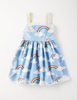 b465321d01a2 The perfect rainbow dress from Boden for Audrey's rainbow-themed birthday  party!
