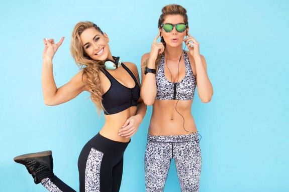 The luxe fitness fashion brand that doesn't make basic black leggings: