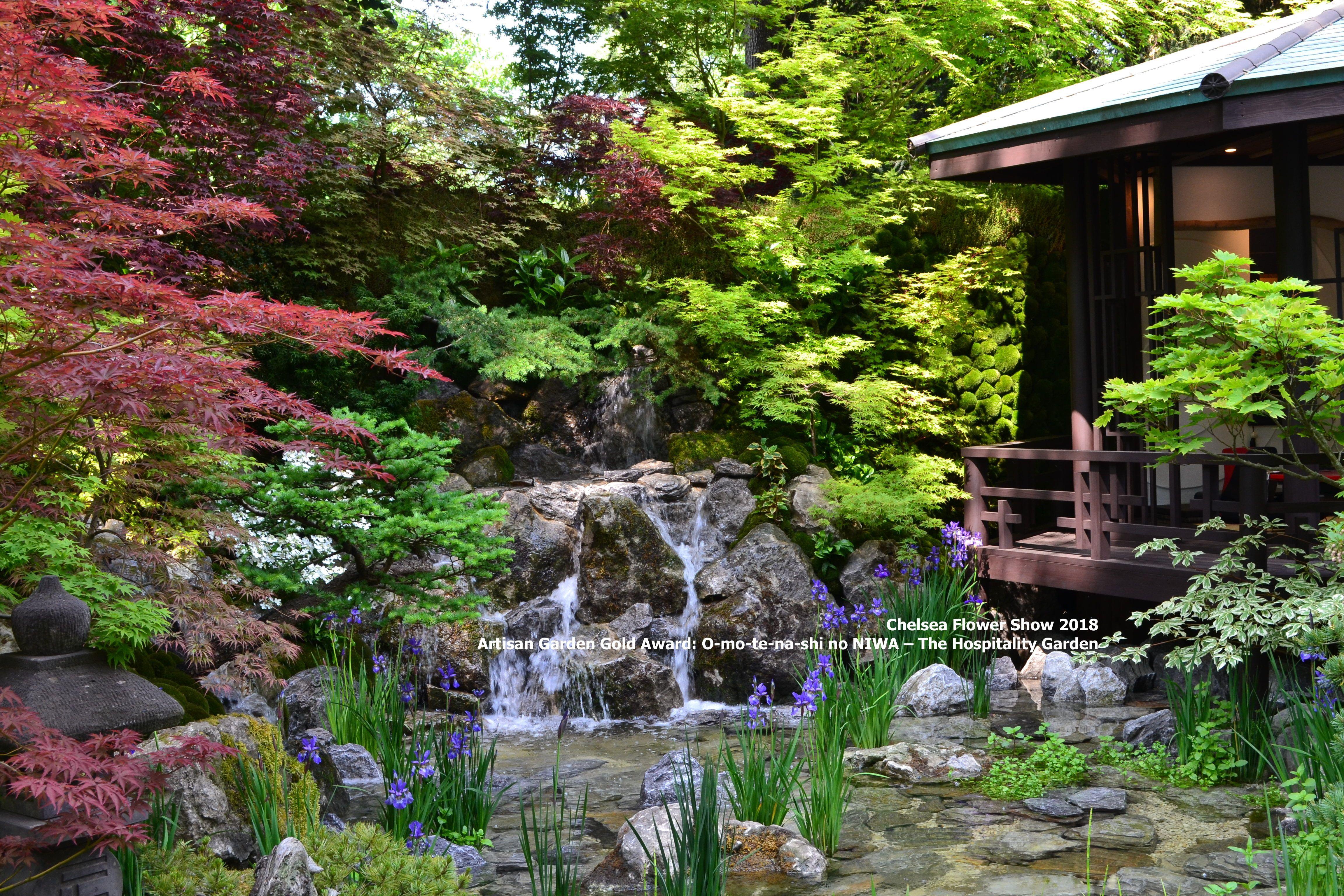 Japanese Hospitality Garden, RHS Chelsea Flower Show May