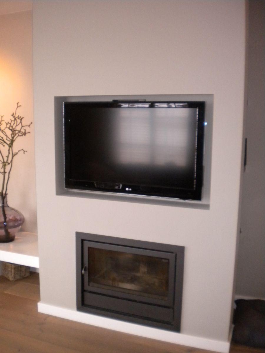 Woonhuis Amstelveen - ASN Interieur Styling | Gashaarden met tv ...